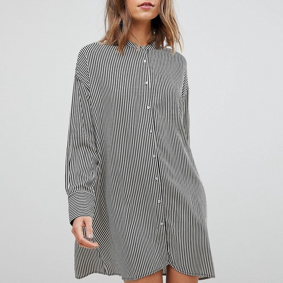 cd399a6d7cf Stradivarius Stripe Shirt Dress from ASOS